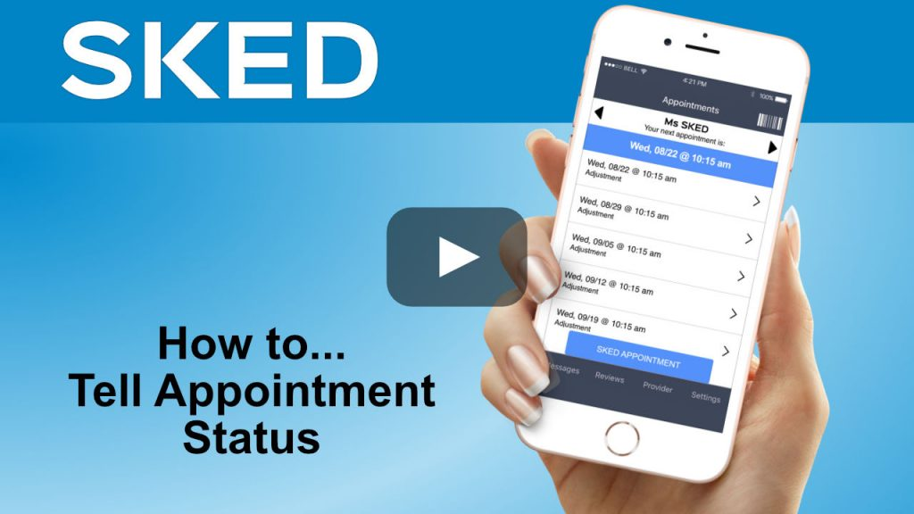 how to tell appointment status